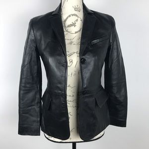 BCBG Maxazria ~ Leather Jacket